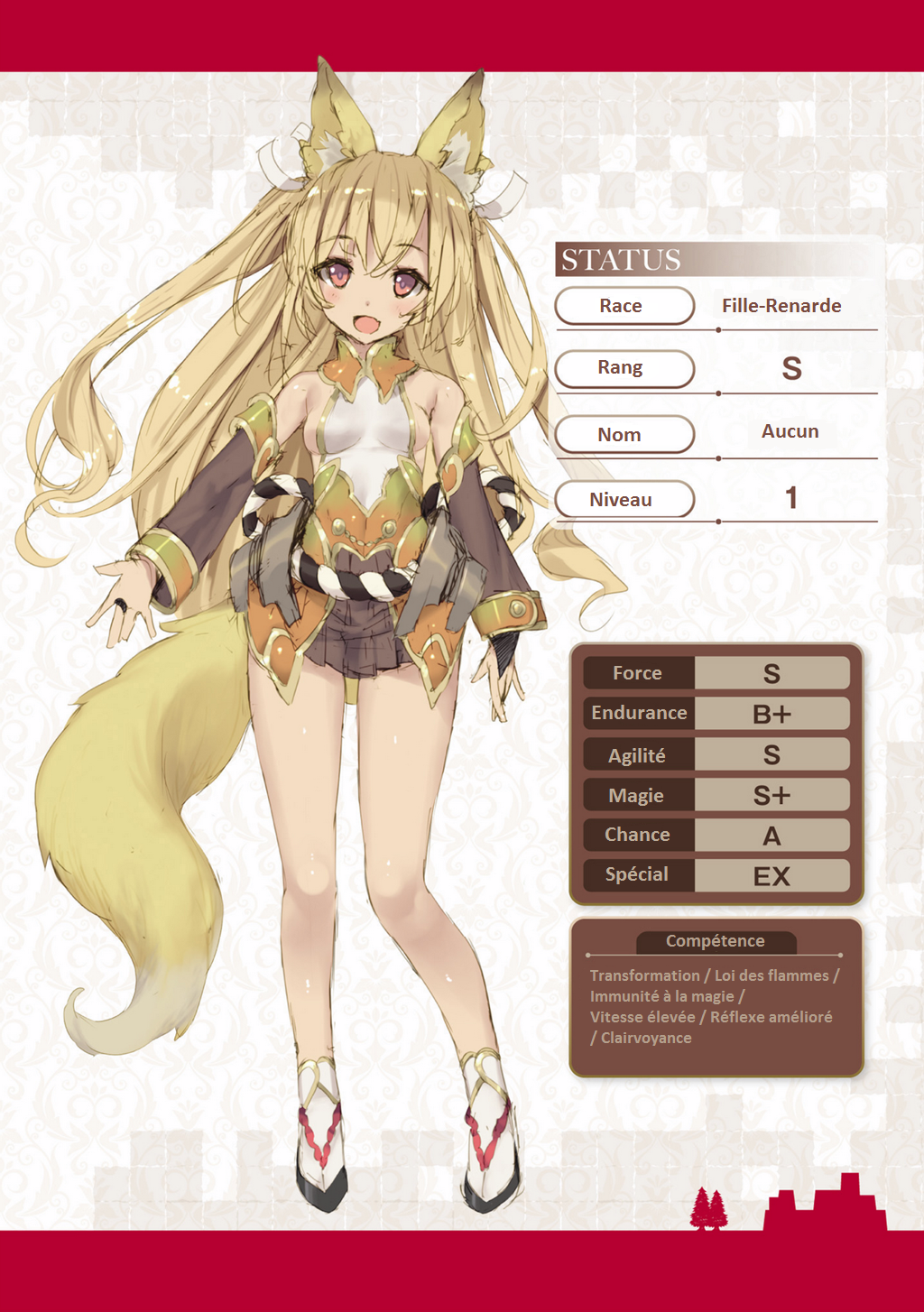 Maou sama no Machizukuri Volume 01 Status de Femme Renarde